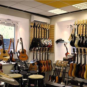 Музыкальные магазины Уяра